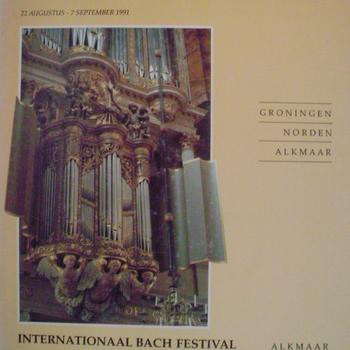 Internationaal Schnitger orgelconcours. Internationaal Bachfestival