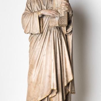 Rekwisiet (beeld) voorstellende Sint-Cecilia