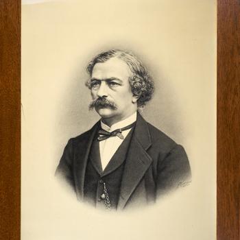 Portret van J.H. van Marcellis Hartsnick