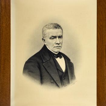 Portret van C.L. Vitringa