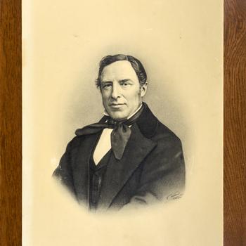 Portret van H.H. Vitringa
