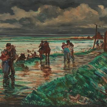 Watersnood 1953, de Fijnaartspolder