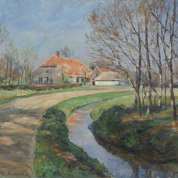 Huizen in Bodange, Molenweg te Nunspeet