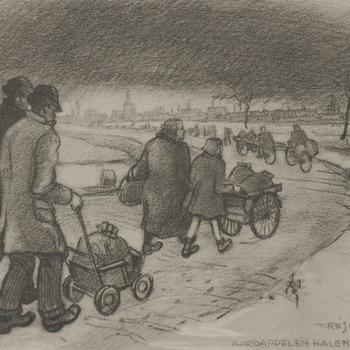 Aardappelen halen Nov '44