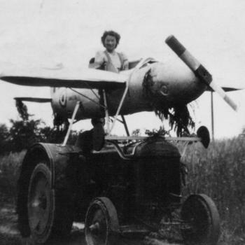 Gebouwd/verbouwd vliegtuig, gemaakt voor de bevrijdingsoptocht