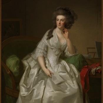 Portret van Wilhelmina van Pruisen, prinses van Oranje-Nassau (1751-1820)