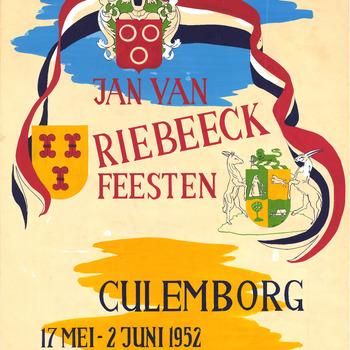Jan van Riebeeck feesten Culemborg, 17 Mei -2 Juni