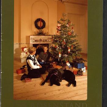 Catalogus met de producten (borduurpakketten) van Eva Rosenstand en Clara Waever, november 1989