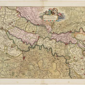 TETRACHIA DUCATUS GELDRIAE NEOMAGENSIS [Kwartier van Nijmegen, hertogdom Gelre]