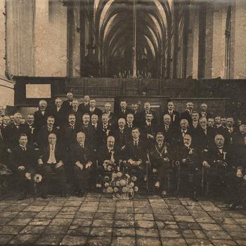Herdenking 350 jaar hervorming 1572 - 1922 Zaltbommel