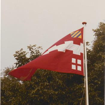 ca, 1980. De gemeentevlag na de herindeling in 1978.