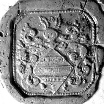 Zegel van: Goossen Wolff d.d. 21 nov. 1766 schepen in de Hoge Bank van Driel