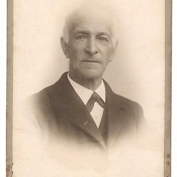 Portret Jan Brouwers (1840-1924)