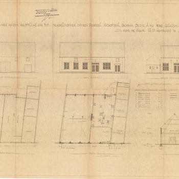 Zaltbommel, Oliestraat 13; Zaltbommel, Oliestraat 11; Meubel- en stoffeerwerkplaats