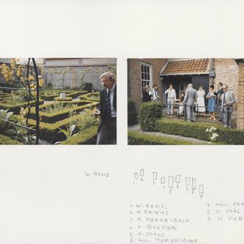 Jan van Riebeeckhuis. Etentje van het streekarchivariaat