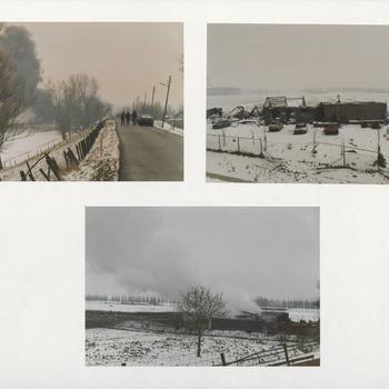 Vuurwerkfabriek. Kolen. Diefdijk-Stokvisweggetje. Ontploffing. 1991