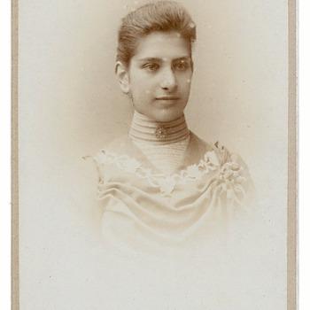 Portret Hendrika Maria Brouwers (1882-1963)