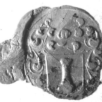 Zegel van: Ds. Wilhelmus Keuchenius d.d. 30 mei 1687 predikant te Alem