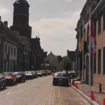 Herenstraat opening stadhuis.