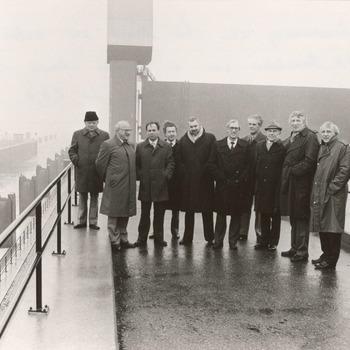 Bijeenkomst C.D.A. Commissie. Maart 1985 (i.v.m. besprekingen herindeling)