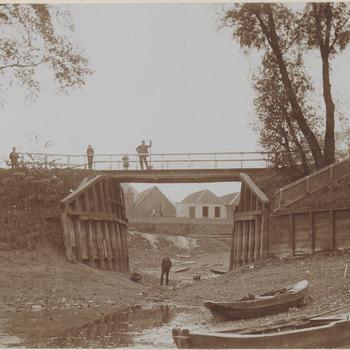 De Oude Haven, foto genomen richting Zoutkeetstraat
