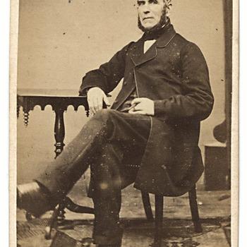 Portret Hendrik Brouwers (1799-1865), burgemeester van Kerkwijk