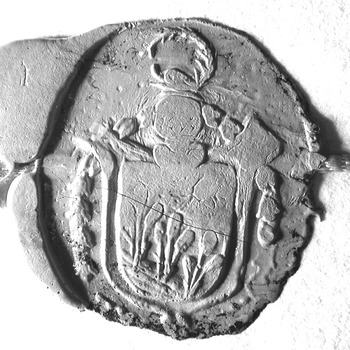 Zegel van: Adriaan Matthias Graadt d.d. 19 aug. 1809 schepen in de Hoge Bank van Driel