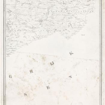 Topografische kaart van de Provincie Gelderland op last der Edel Groot Achtbare Heeren Staten van dat Gewest, vervaardigd door W. Kuyk, ingenieur verificateur van het kadaster: Dinxperlo, Lichtenvoorde, Winterswijk, blad 15
