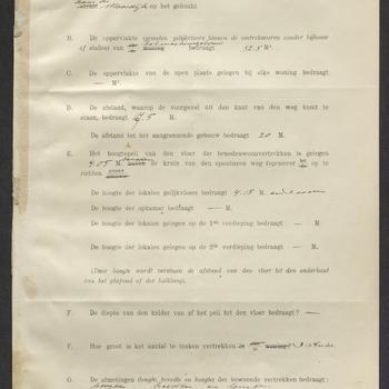Hedel, Maasdijk; Bouw watergemaal (stoomgemaal), 18-07-1922