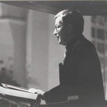 Opening N.H. kerk, Ds. van Druten.