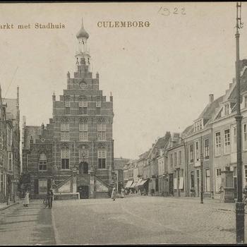 Markt met Stadhuis. Culemborg