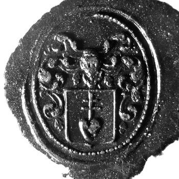 Zegel van: Tricht, van J. van Tricht Oz. d.d. 13-7-1816 notaris te Zaltbommel