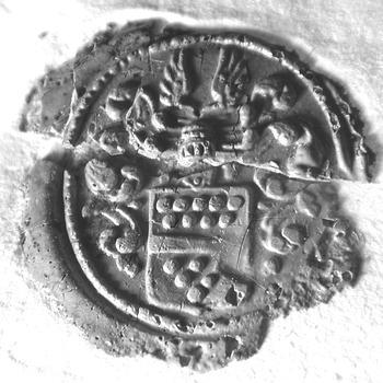 Zegel van: van Clootwijck d.d. 1 sept. 1730 te Driel