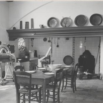 Elisabeth Weeshuis. Museum Vrouwe Elisabeth; keuken.