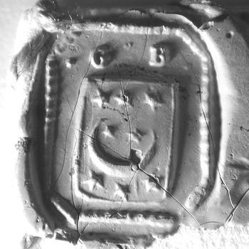 Zegel van: Gerard Bellingan d.d. 10 maart 1735 schepen in de Hoge Bank van Driel