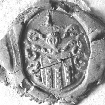 Zegel van: Wouter van Hurwene d.d. 9 maart 1798 schepen in de Hoge Bank van Driel