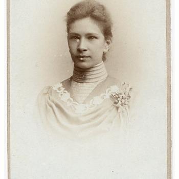 Portret Gijsberta Aletta Brouwers (1883-1974)