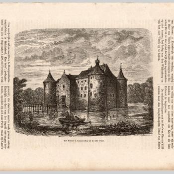 Het Kasteel te Ammerzoden (in de 17de eeuw)