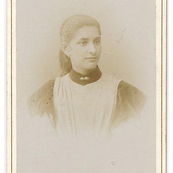 Portret Jenneke Petronella Brouwers (1879-1956)