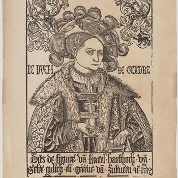 Portret van Karel van Gelre, 1512