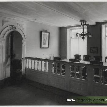 Secretariaat op de 1e verdieping van het stadhuis.