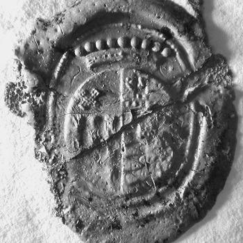 Zegel van: de Cocq Quirinus Ramaker d.d. 15 aug. 1739 schepen in de Hoge Bank van Driel, zegelt met het wapen de Cocq
