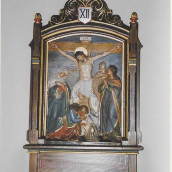 Kruiswegstatie. H. Gregoriuskerk Buren.