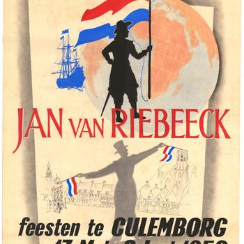Jan van Riebeeck feesten te Culemborg 17 Mei -2 Juni 1952