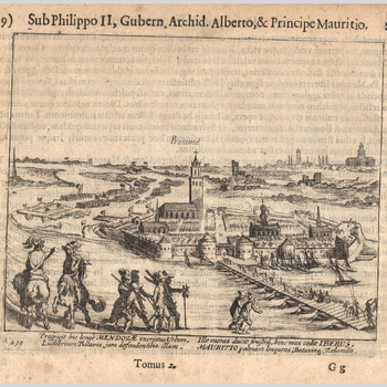 Beleg van Zaltbommel in 1599