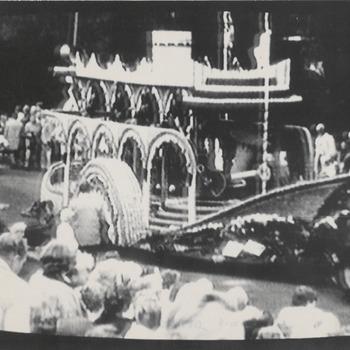 Praalwagen Fruitcorso, jaar onbekend
