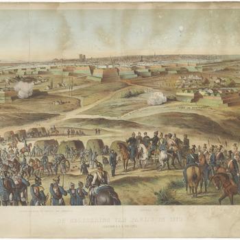 De belegering van Parijs in 1870 : aanvoer ammunitie en de verschansingen