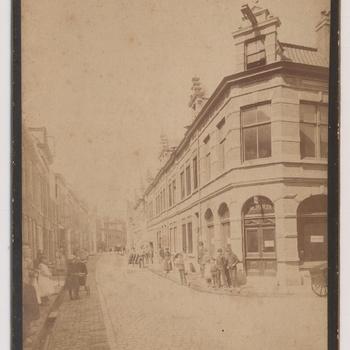 Tolhuisstraat Tiel. richting Sint Agnietenstraat