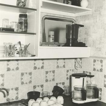 De keuken van het streekarchivariaat in Drumpt
