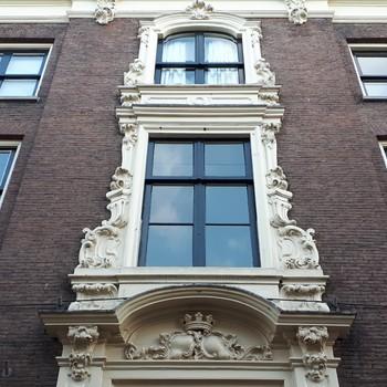 Siergevel patriciërshuis Mariënburg